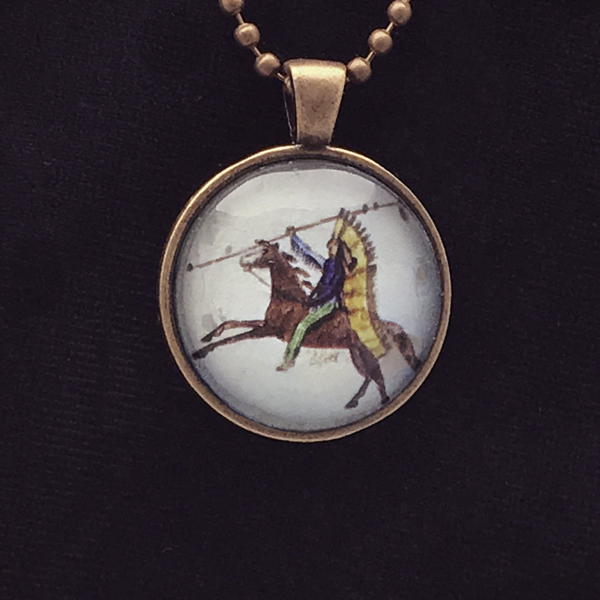 necklace cameo amedeo products warrior copy