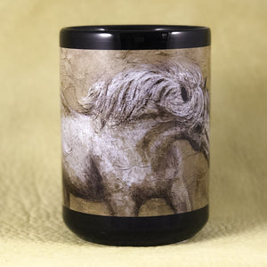 Mug-Spirit Horse Series--Icey Stallion