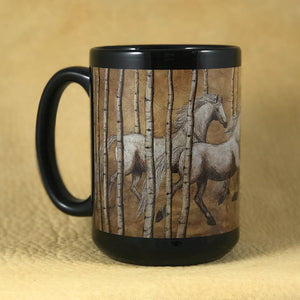 Mug-Wind in the Aspens