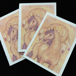 Moon Pony-Note Cards