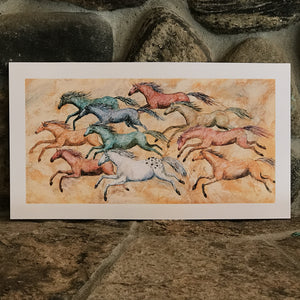 Spirit Horse and Rainbow Herd
