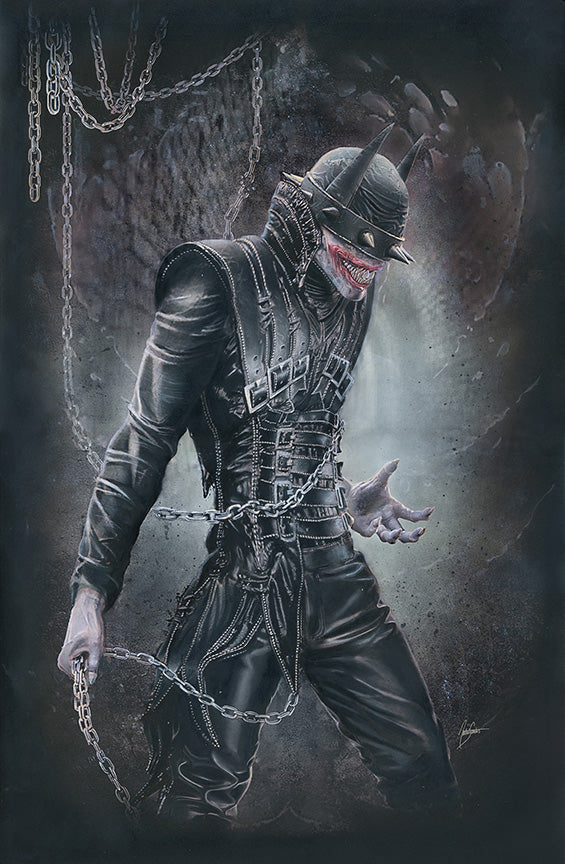 Batman Who Laughs #1 CMS Exclusive by Natali Sanders