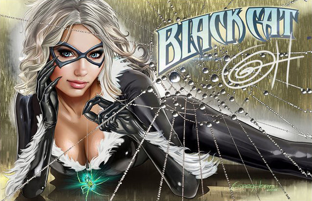 Black Cat #1 by Greg Horn