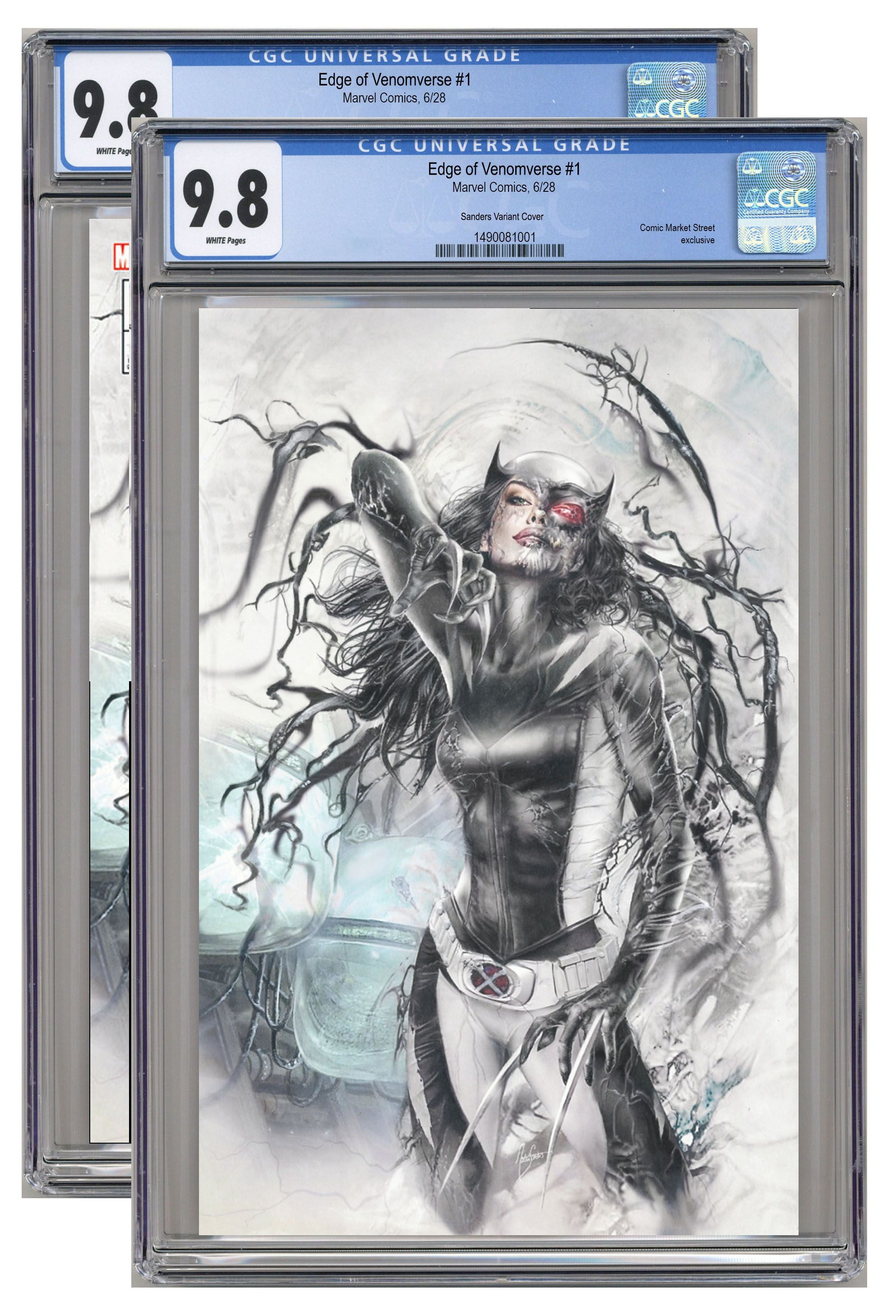 Edge of Venomverse #1 CMS Exclusive by Natali Sanders