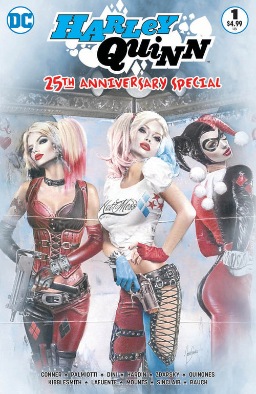 Harley Quinn 25th Anniversary #1 CMS Exclusive by Natali Sanders