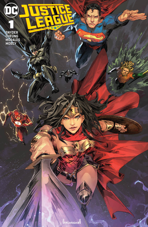 Justice League #1 CMS Exclusive by Kael Ngu