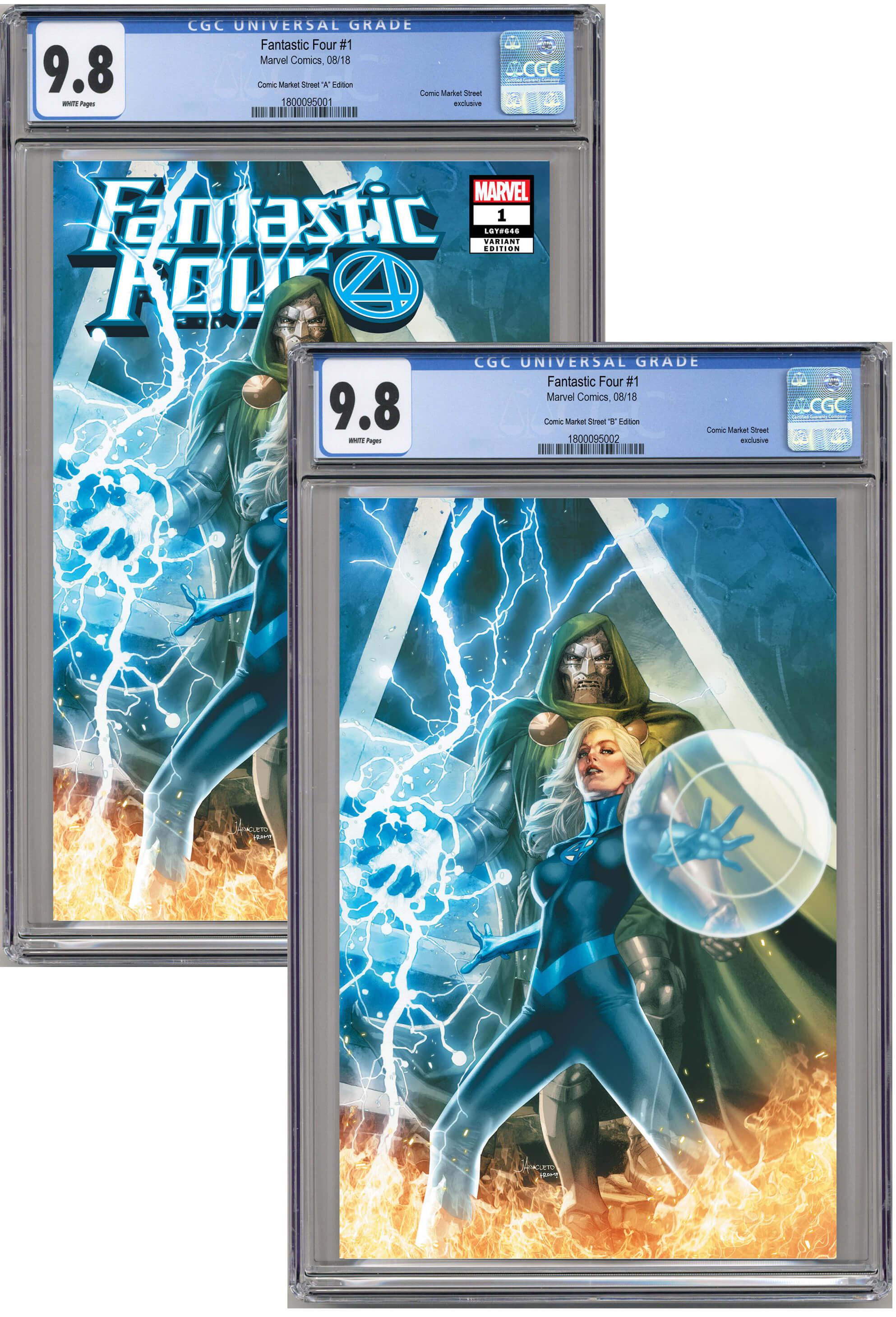 Fantastic Four #1 CMS Exclusive by Jay Anacleto