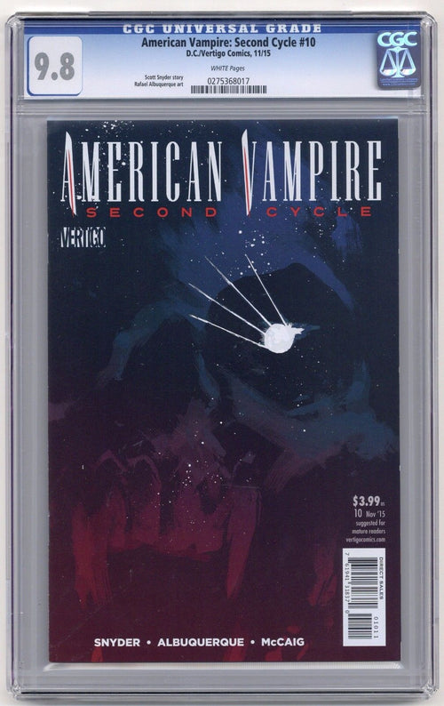 American Vampire: Second Cycle #10 CGC 9.8