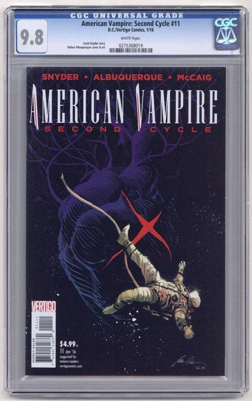 American Vampire: Second Cycle #11 CGC 9.8