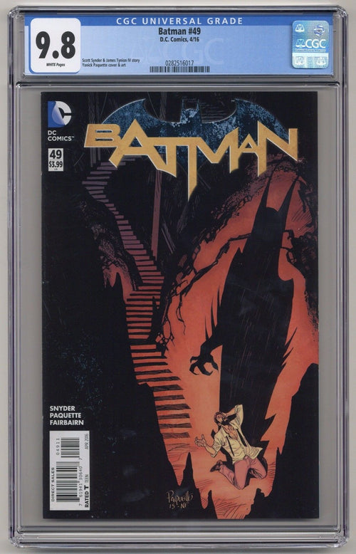 Batman #49 New 52 CGC 9.8