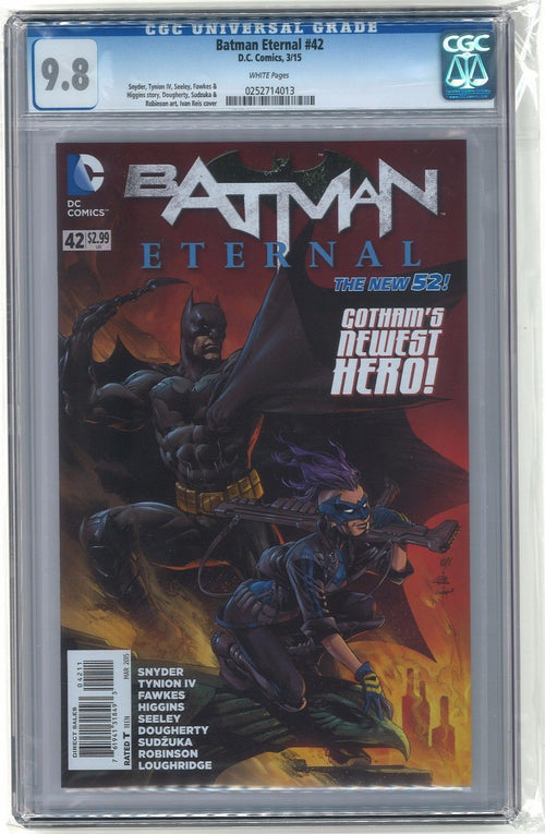 Batman Eternal #42 CGC 9.8