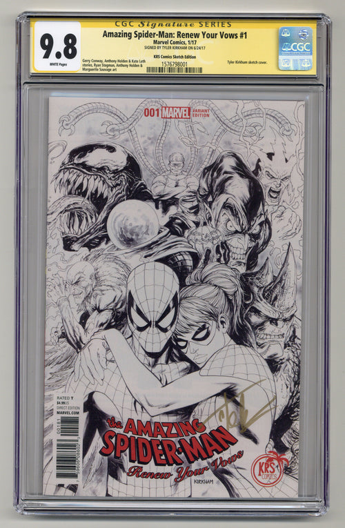 Amazing Spider-Man: Renew Your Vows #1 CGCSS 9.8
