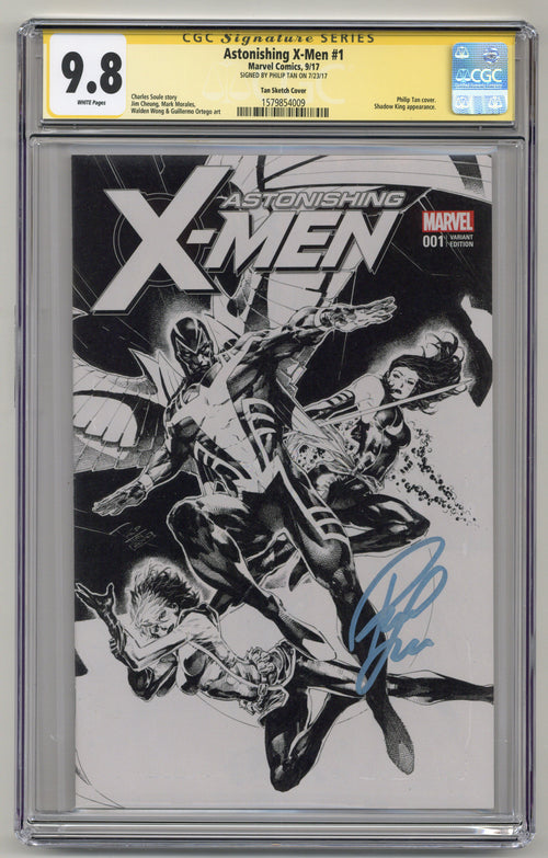 Astonishing X-Men #1 KRS Sketch CGCSS 9.8