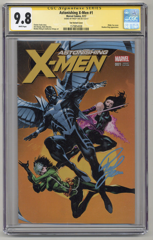 Astonishing X-Men #1 KRS Color CGCSS 9.8