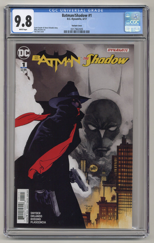 Batman/Shadow #1 CGC 9.8