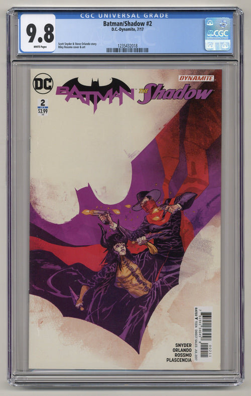 Batman/Shadow #2 CGC 9.8