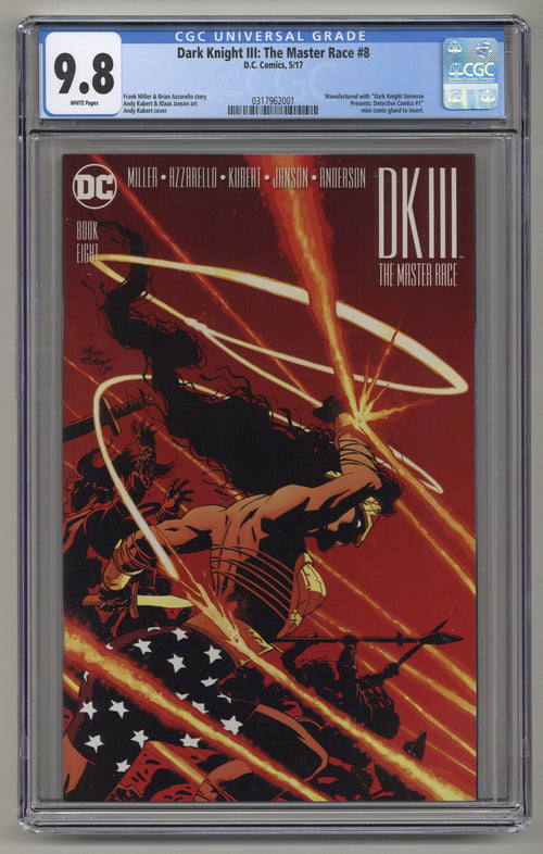 Dark Knight III: Master Race #8 CGC 9.8
