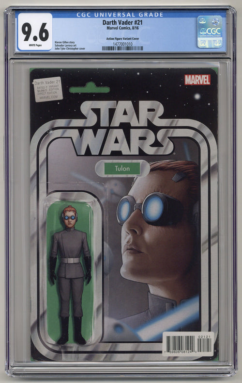 Darth Vader #21 Action Figure Variant CGC 9.6