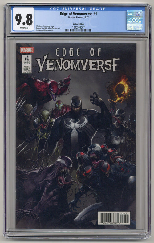 Edge of Venomverse #1 Variant CGC 9.8