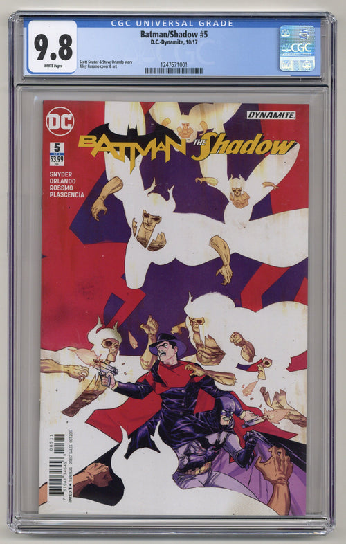 Batman/Shadow #5 CGC 9.8