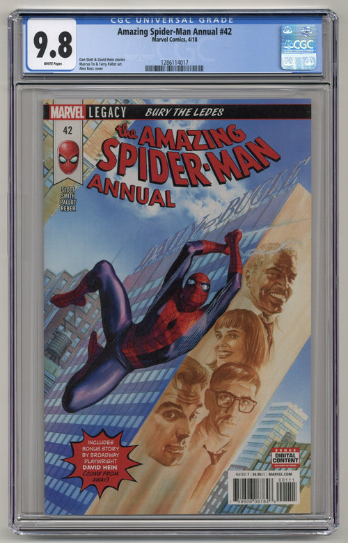 Amazing Spider-Man Annual #42 CGC 9.8