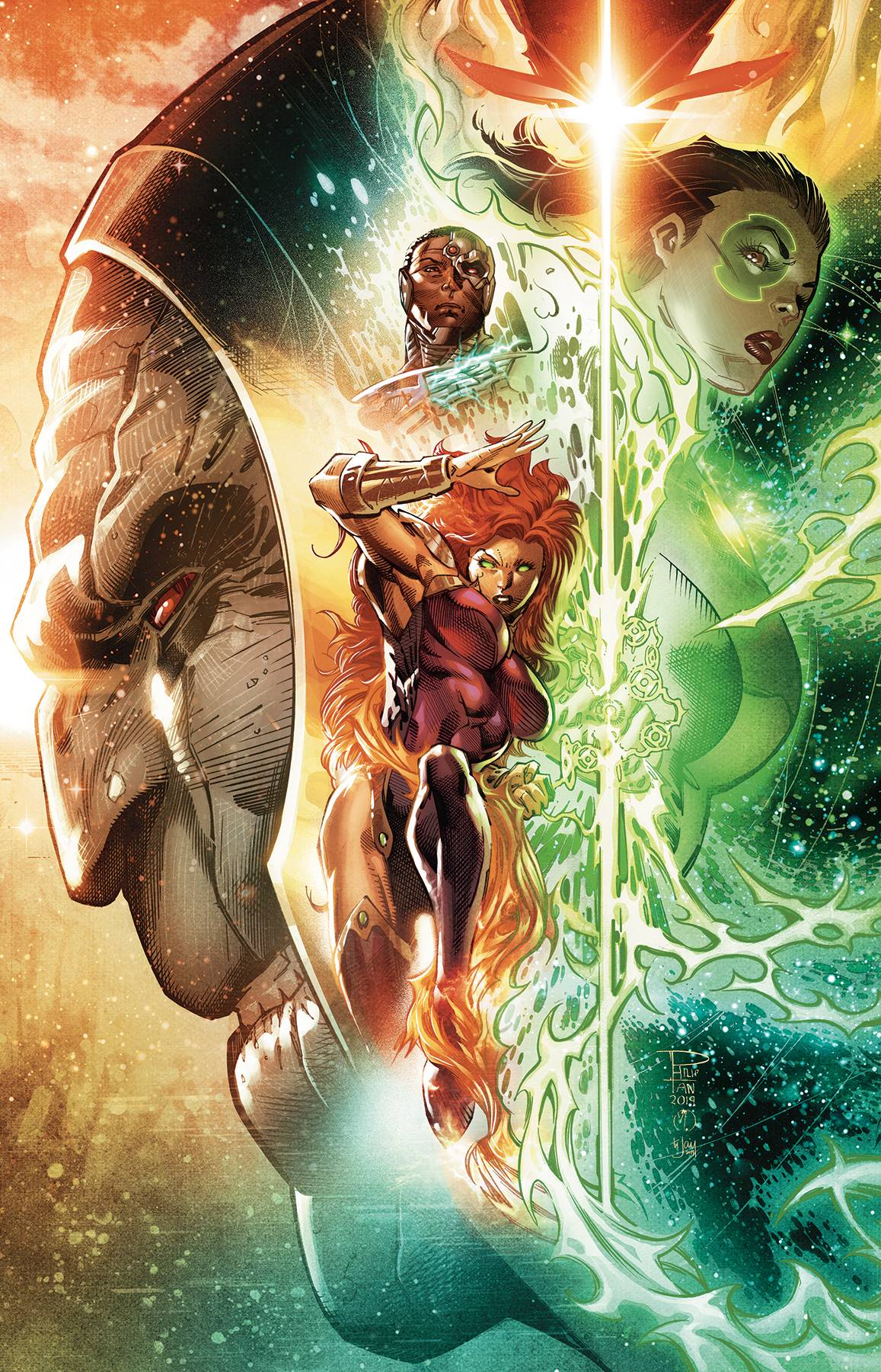 Justice League Odyssey #11 Pre-Order