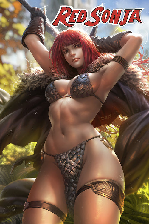 Red Sonja #21 CMS Exclusive by Derrick Chew