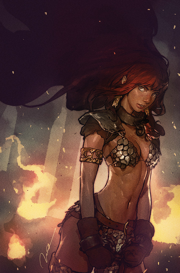 Red Sonja Birth of the She Devil #1 Exclusive by Gerald Parel