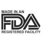 made in an FDA registered facility badge