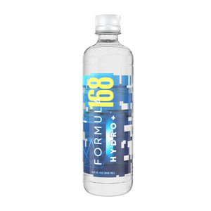 Formula168®: Hydro+ - Alkaline Water- front view