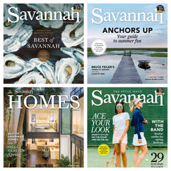 Best of Savannah magazine one-year subscription