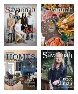 Savannah magazine one-year subscription