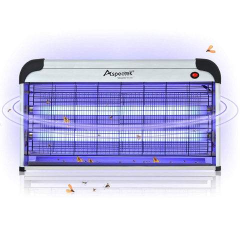ASPECTEK Professional Electronic Indoor Insect killer,Bug Zapper,Fly Zapper,Mosquito Killer,30W UV Bulbs for Home & Commercial Use (UK PLUG)