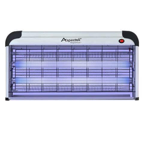 ASPECTEK Electronic Bug Zapper 40W, Insect Fly Killer - Mosquito, Moth Trap, Upgraded 20W Bulbs- Indoor Use; More Power - Larger Size 25 Inch