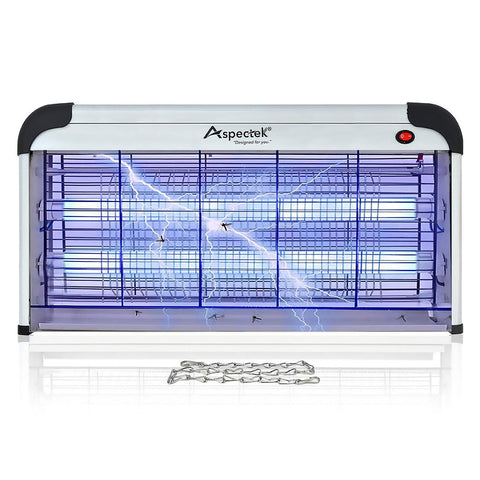 ASPECTEK Electronic Indoor Insect Killer Bug Zapper 40W Effective Against Flies,Mosquitos,Moths Wasps Beetles