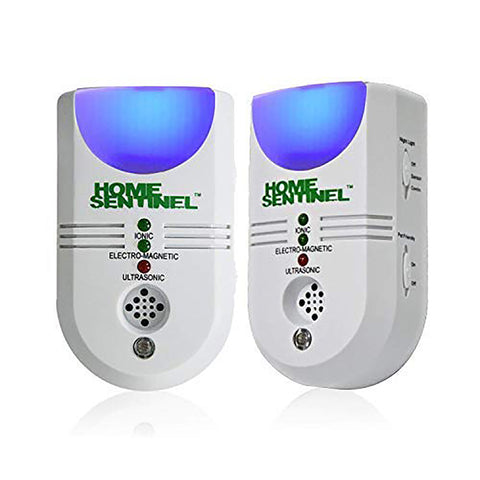 ASPECTEK Ultrasonic Plug-in Rodent Repeller, Electronic Pest Control Deterrent Against Spiders, Mice, Moths, Ants, Bugs, Sound Frequency: 15kHz-18kHz