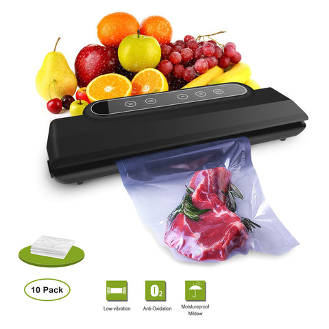 Vacuum Sealer Machine, Packing Machine Vacuum Food Savers Vacuum Packing Automatic Sealing System/Starter Kit