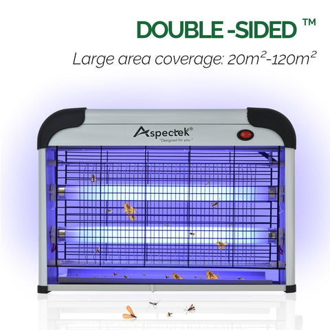 ASPECTEK Upgraded 20W Electronic Bug Zapper, Insect Killer-Mosquito