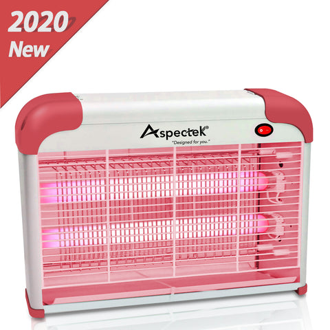 ASPECTEK Mosquito Killer Bug Zapper in Door Use, Red