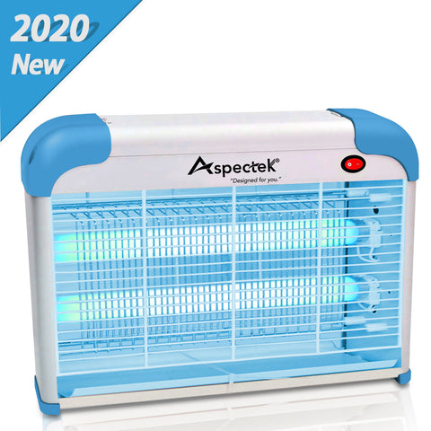 ASPECTEK Home Insect Killer Mosquito, Bug, Fly Traps, Blue