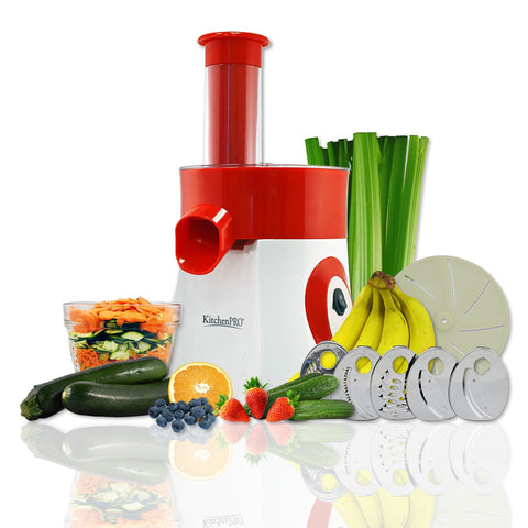 Bon KitchenPRO 2 In 1 Food Processor, Salad And Frozen Dessert Maker