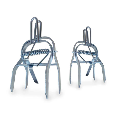 Steel Mole Traps, 2 Packs