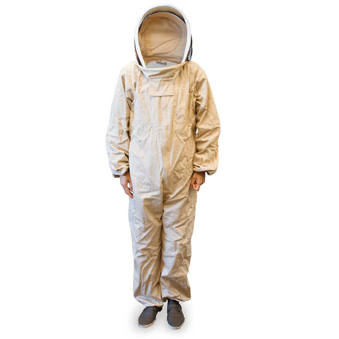 GardenHOME Beekeeper Suit with Attached Helmet