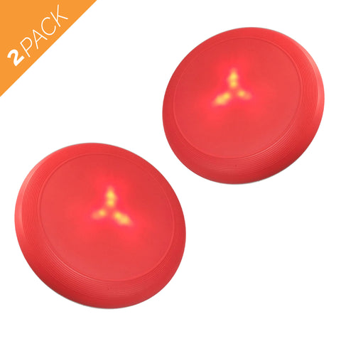 Dog Toy - Large Flying Disk - with LED Lights