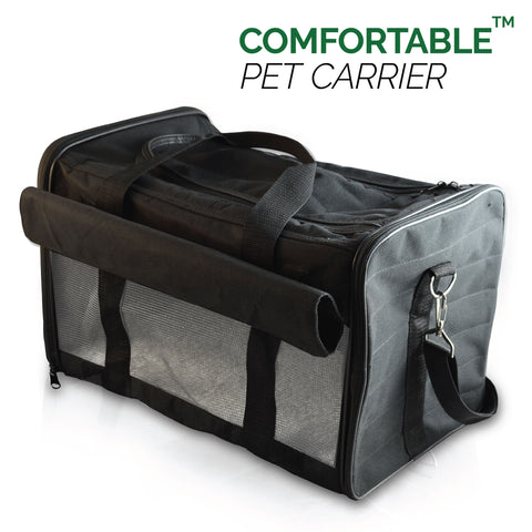 PetsN'all Soft-Sided Pet Carrier Bag (Airline Approved)