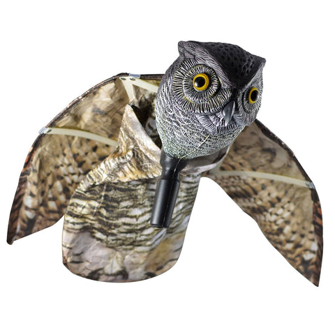 TruMotion VisualScare Owl with Moving Wings