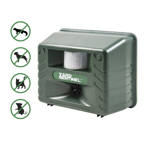 Aspectek Yard Sentinel Ultrasonic Outdoor Pest & Animal Repellent