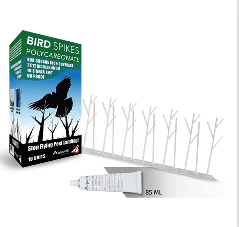 Bird Spikes 10 Feet Polycarbonate