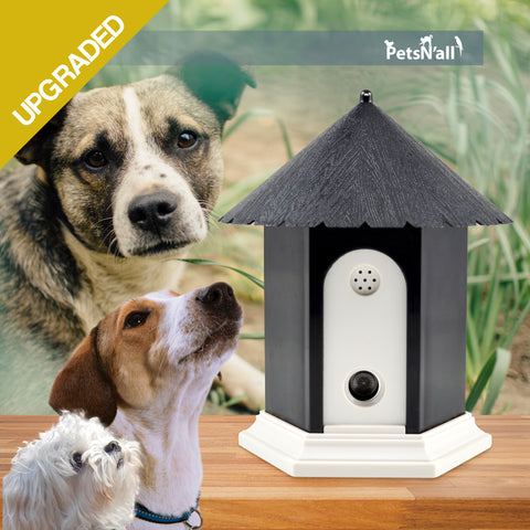 PetsN'all Ultrasonic Dog Bark Controller in Birdhouse Shape