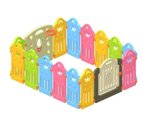 Comforday colorful playpen for babies and pets